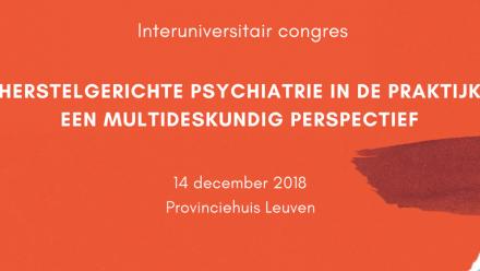 Congres herstelgerichte psychiatrie in de praktijk